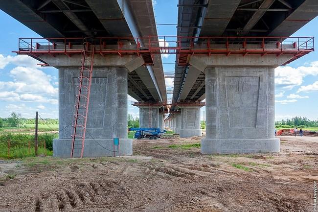 моста через Волхов