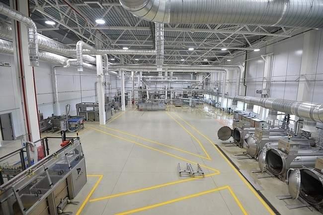 завод по производству кормов для животных