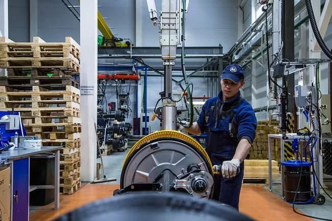 производство осевых агрегатов