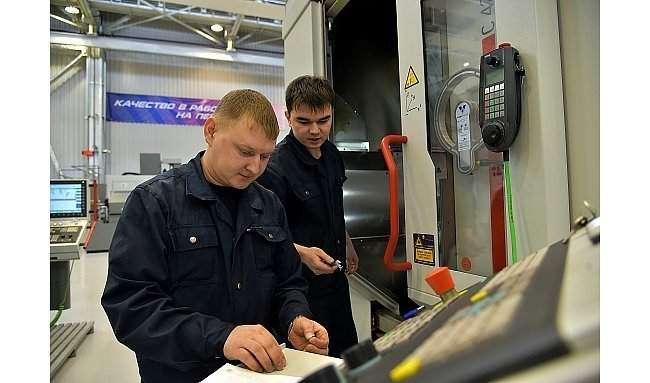 ПТЦ по выпуску компонентов турбовального двигателя ВК-2500