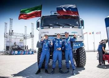 «КАМАЗ-мастер» победил в ралли «Казахстан-2018»