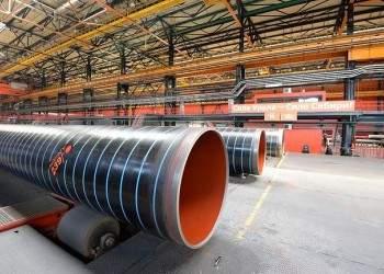 Группа ЧТПЗ и «Северсталь» освоили производство труб большого диаметра