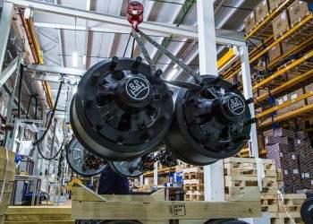 Производство осей грузовых прицепов открыто в Московской области