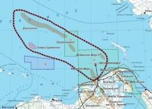 Долгинское месторождение на шельфе Печорского моря