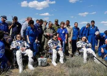 Союз ТМА-19М благополучно вернулся на Землю
