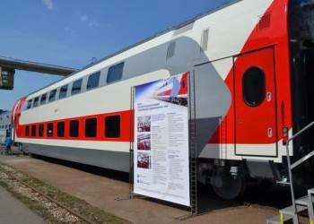 Российские двухэтажные вагоны получили призы на выставке в США