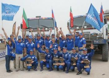 Экипажи «КАМАЗ-Мастер» победили на Africa Eco Race 2015