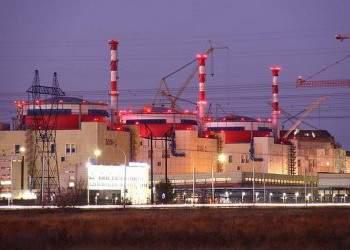 На Ростовской АЭС введен в эксплуатацию энергоблок №3