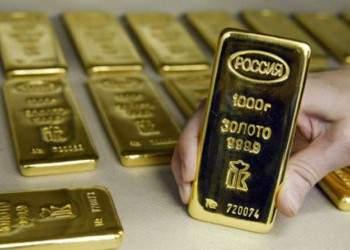 Россия вышла на 6-е место в мире по запасам золота в резервах, обогнав Китай
