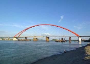 Проектировщики Бугринского моста получили мировую награду