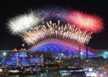 Открытие ХХII Зимних Олимпийских Игр в Сочи