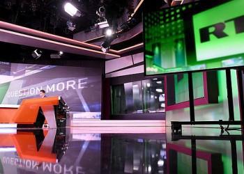 Еженедельная аудитория RT выросла более чем на треть и достигла 100 млн